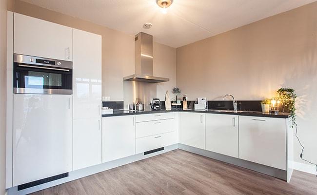Keuken appartement seniorenwoning Calla Rijnsburg | Wonen in Calla