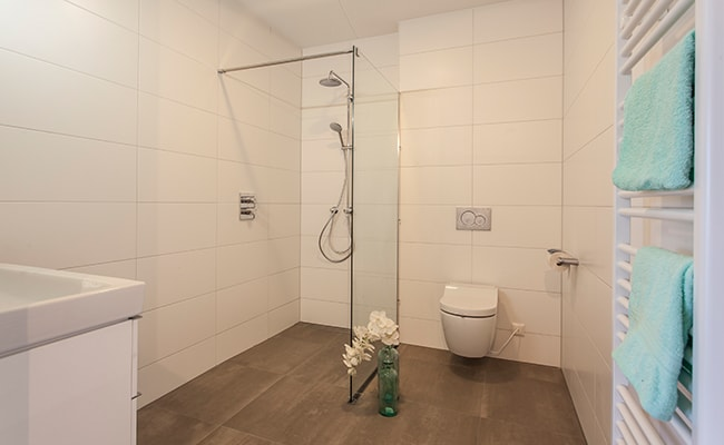 Badkamer appartement seniorenwoning Calla Rijnsburg | Wonen in Calla