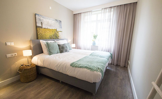 Short-Stay Appartement - Slaapkamer | Calla Rijnsburg