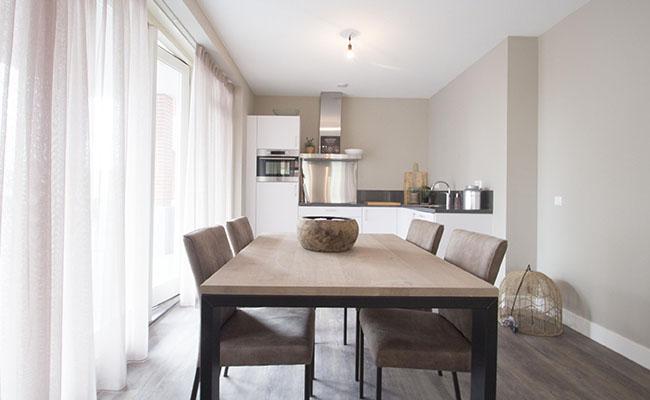 Short-Stay Appartement Leiden - Woonkamer | Wonen in Calla Rijnsburg