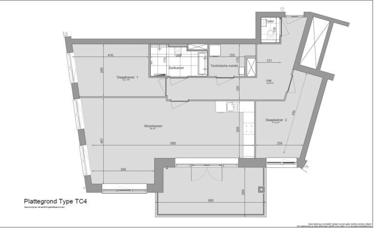 De-klok-447-appartement-calla-plattegrond